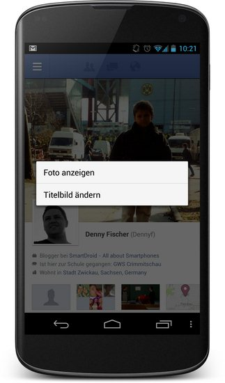 Facebook-Titelbild-Screenshot