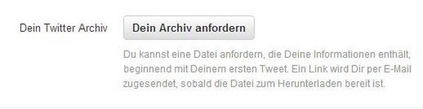 Twitter-Archiv-Screenshot