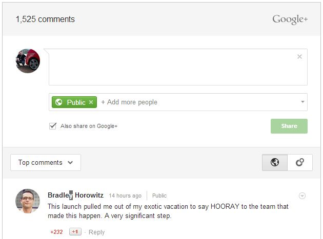 google+ kommentare blogger