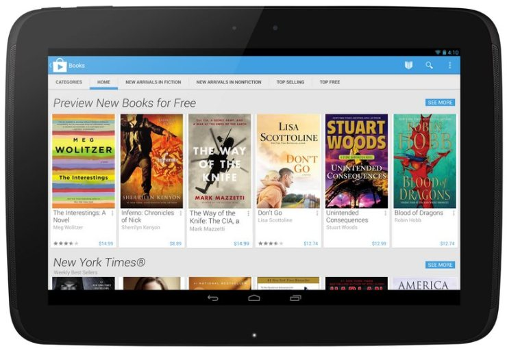 Play Store 4.0 Tablet