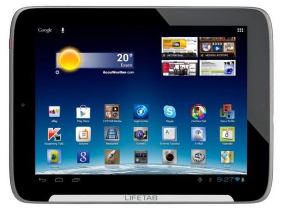 MEDION LIFETAB S9512 9,7  24,6cm Tablet PC 16GB Dual-Core WLAN 1,3MP Webcam   eBay (1)