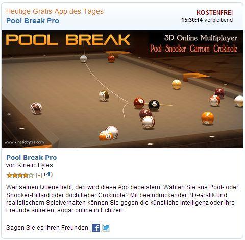 gratis-app pool break
