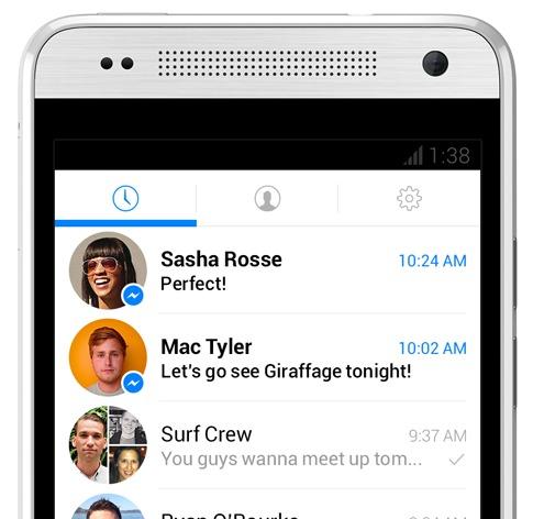 fb messenger 2013 redesign