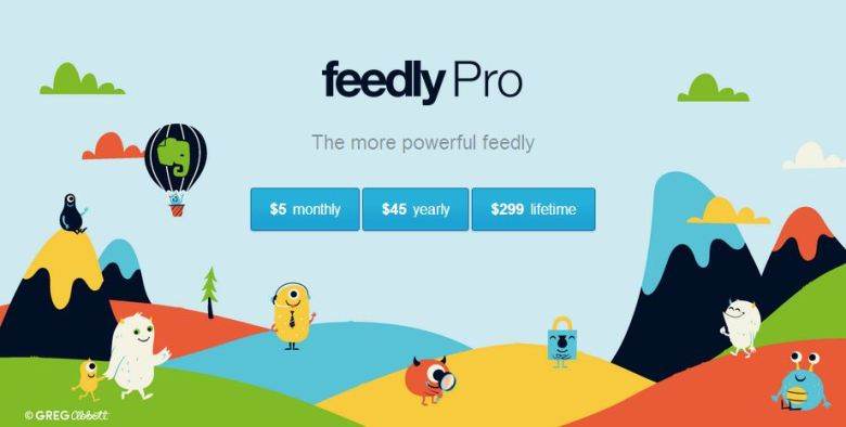 feedly pro 2013