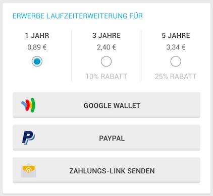 WhatsApp Paypal