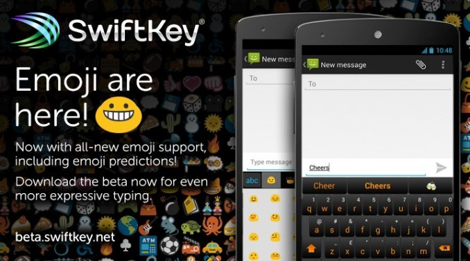 swiftkey emojis beta