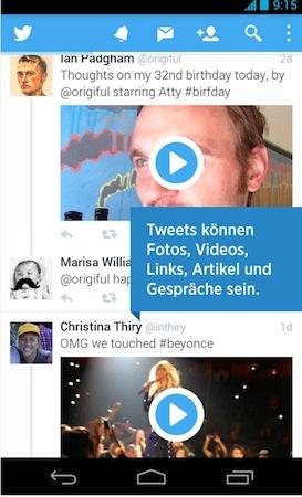 Twitter Redesign 2013