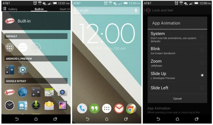 Nova Launcher Android L Beta