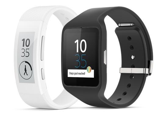 Sony Smartband Talk und Smartwatch 3