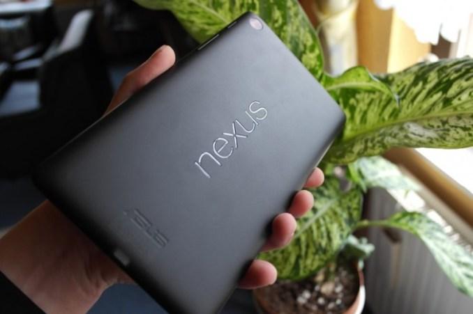 Nexus 7 2013 Schriftzug