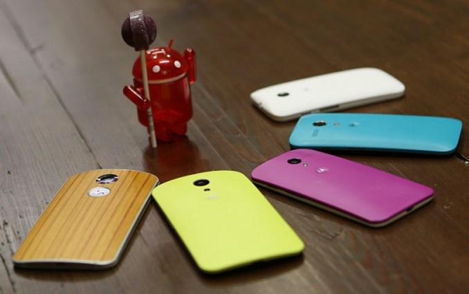 Motorola Android Lollipop