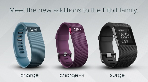 Fitbit Surge und Charge