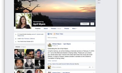 facebook kondolenz