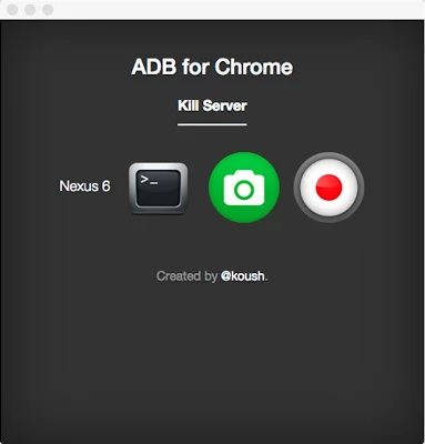 adb for chrome