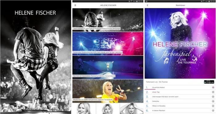Helene Fischer Android App