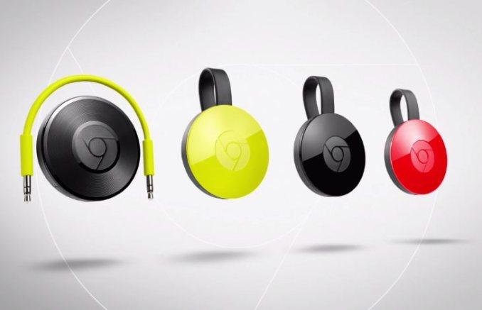 Chromecast 2015 und Chromecast Audio