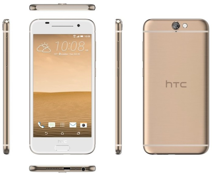 HTC One A9 gold