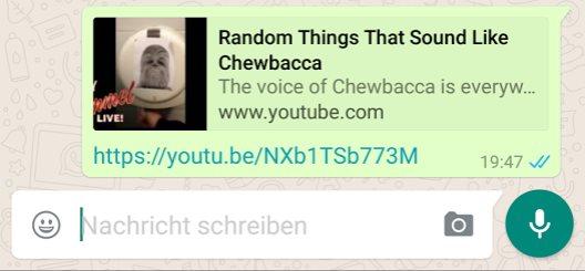 whatsapp rich preview