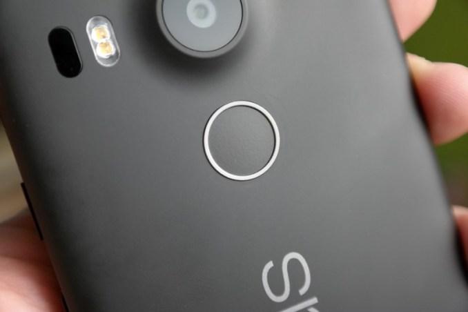 Nexus 5X Test Fingerabdrucksensor