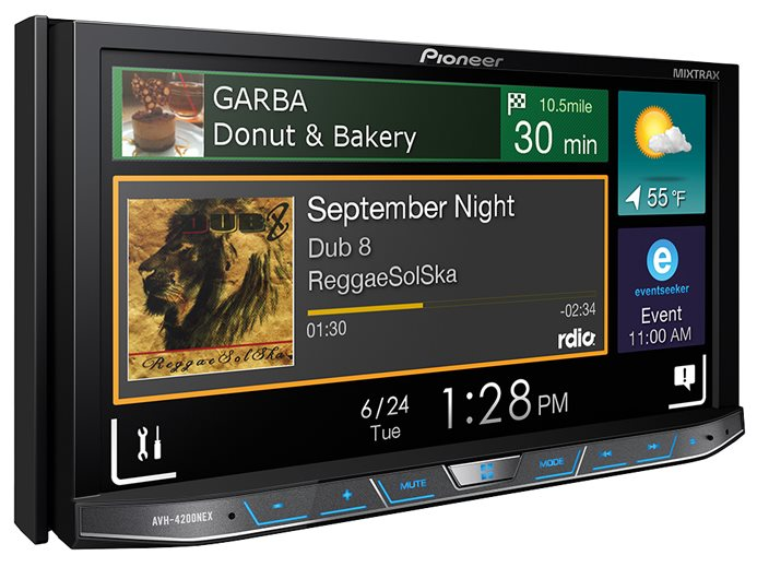Pioneer AVH 42000NEX Android Auto Radio