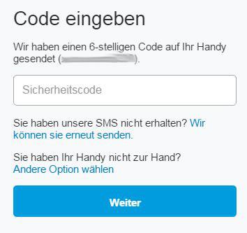 Beispiel PayPal