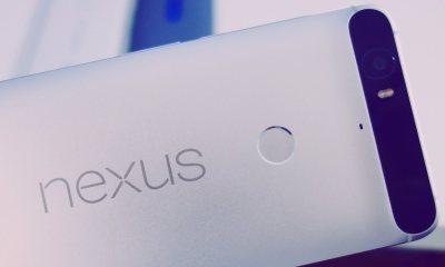 Nexus 6P Schriftzug