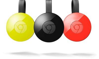 Chromecast 2. Gen Header