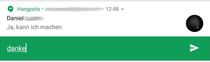 hangouts 8.0 android n