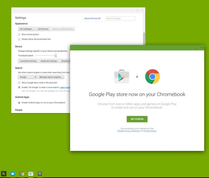 Chrome OS Play Store Leak