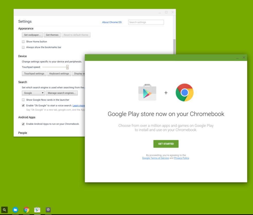 Chrome OS Play Store Leak