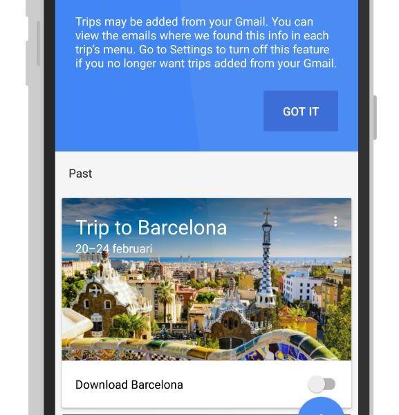 Google Trips