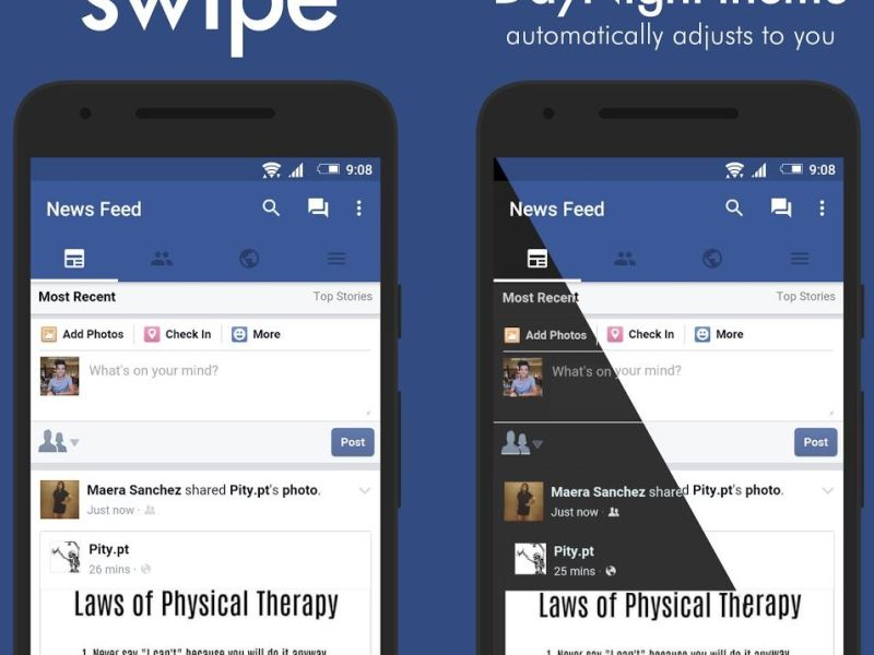 Swipe for Facebook App