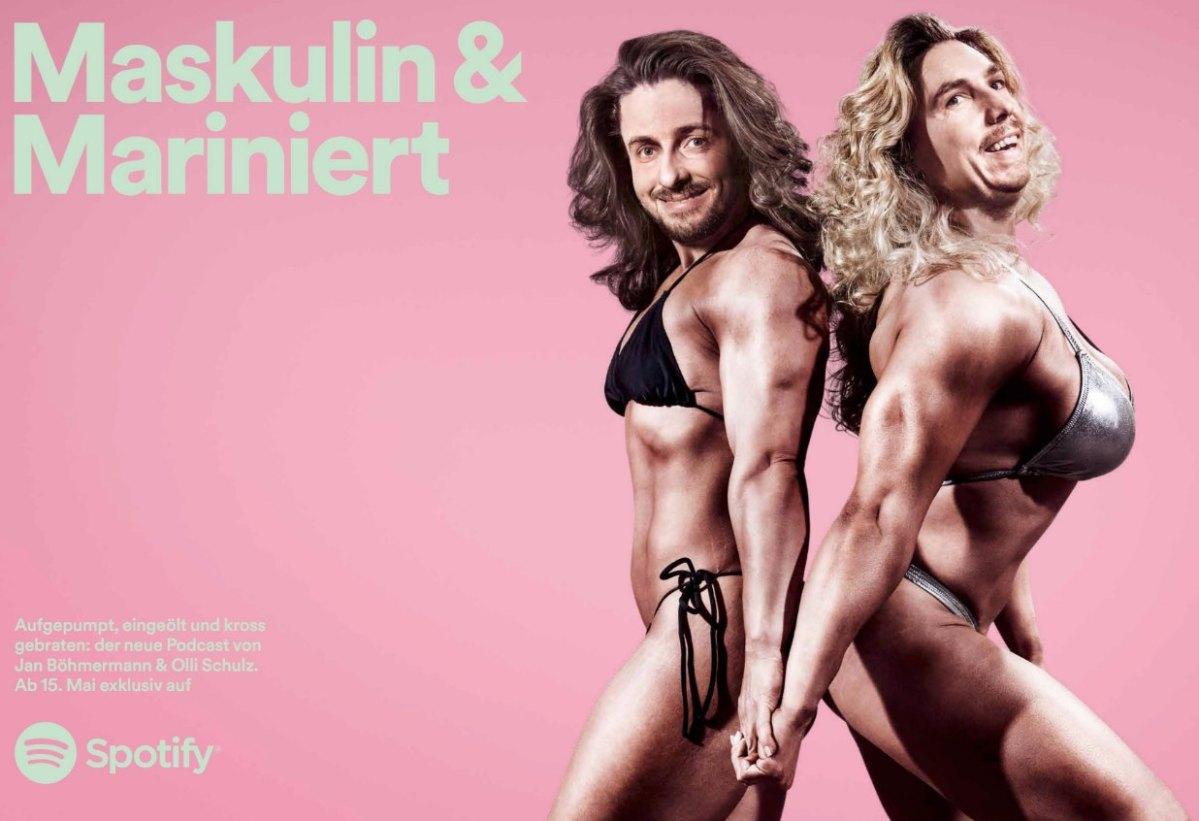 Spotify Podcast Schulz und Böhmermann