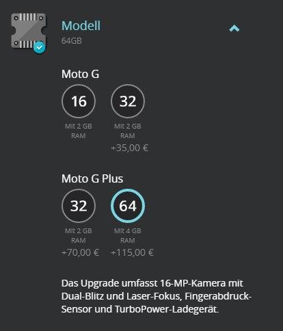 Moto G4 Plus Moto Maker