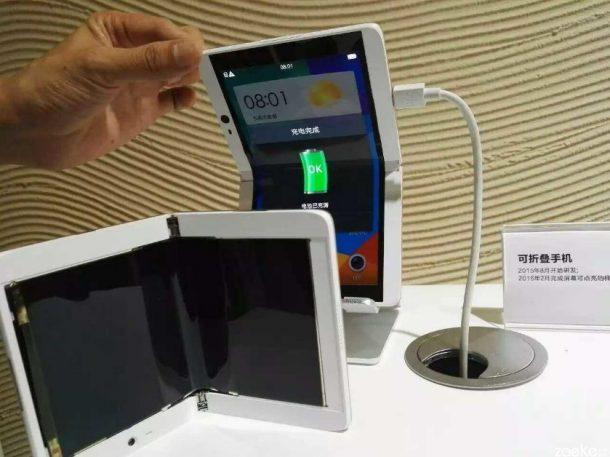 OPPO faltbares Smartphone