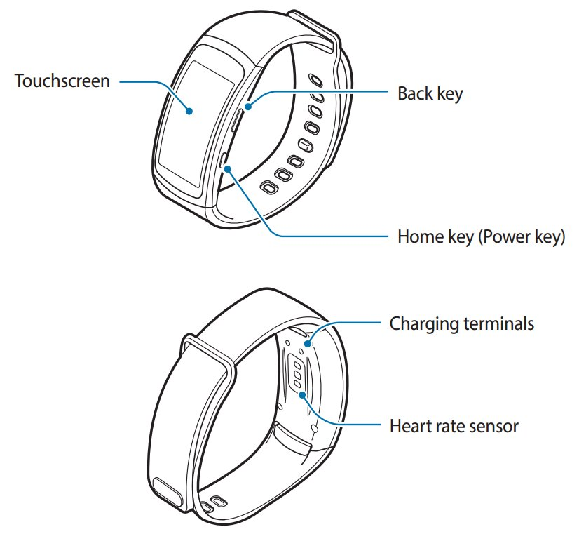 Samsung Gear Fit 2: Anleitung verrät technische Ausstattung
