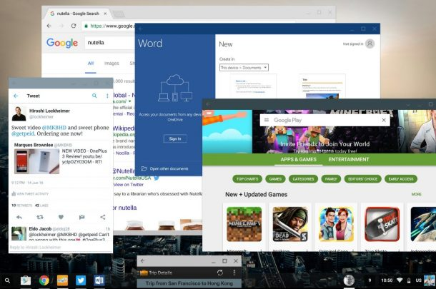 Chrome OS Android-Apps