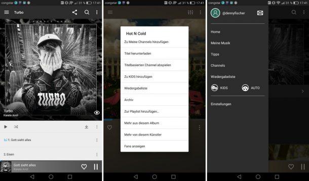 ALDI Life Musik Android App