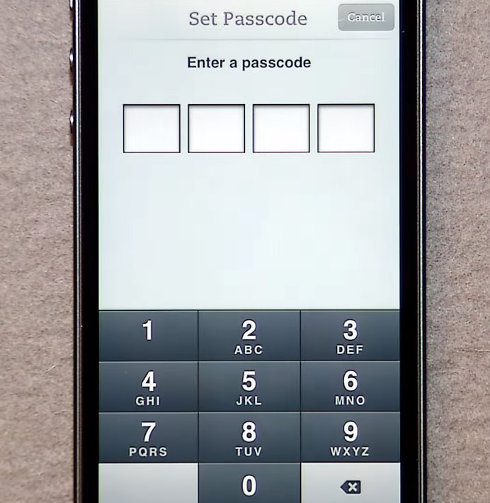 Evernote Passcode