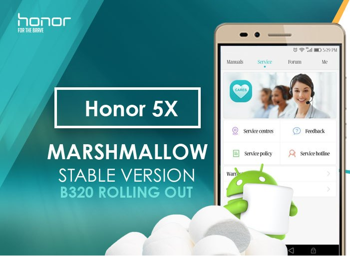 Honor 5X Marshmallow Update