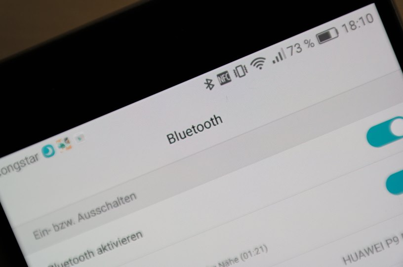 Bluetooth Android Header