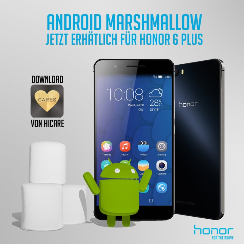 Honor 6 Plus Android 6 Marshmallow