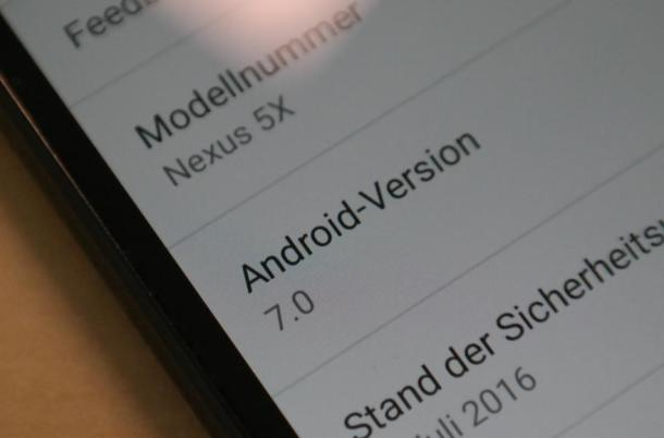 Android 7 Nougat Header