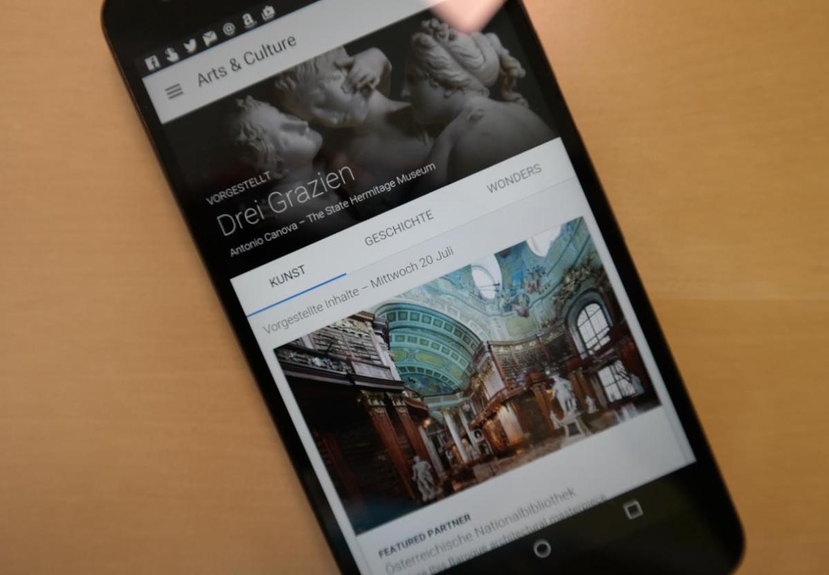 Google Kunst und Kultur Header