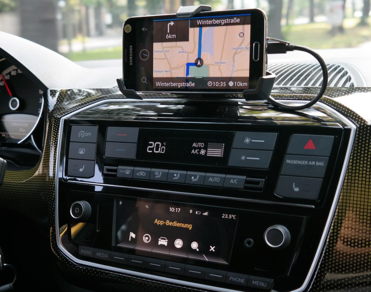 Vw Maps More Mit Smartphone Und Android Auto Ausprobiert