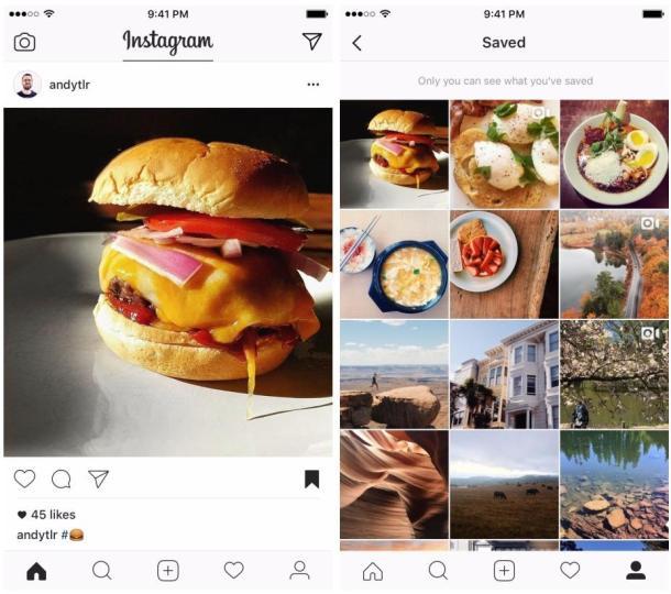 Instagram Beiträge speichern