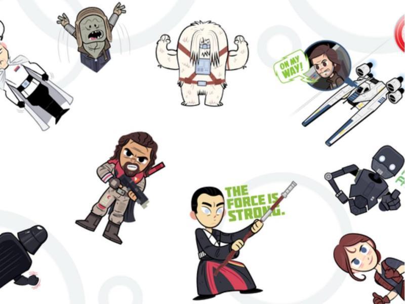 Rogue One Sticker Paket Google Allo (2)