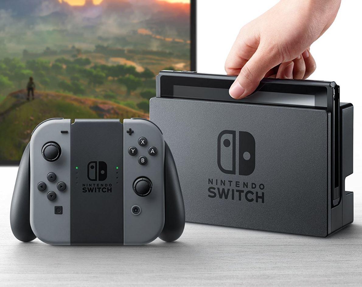 Nintendo Switch Header