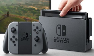 Nintendo Switch Header
