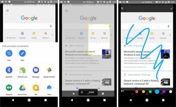 Google Assistant Screenshot Tool